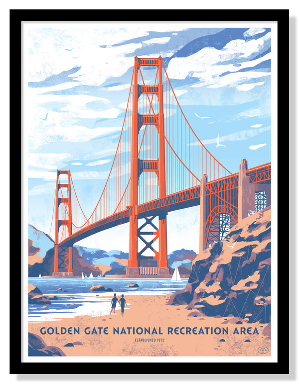 Golden Gate National Recreation Area Poster