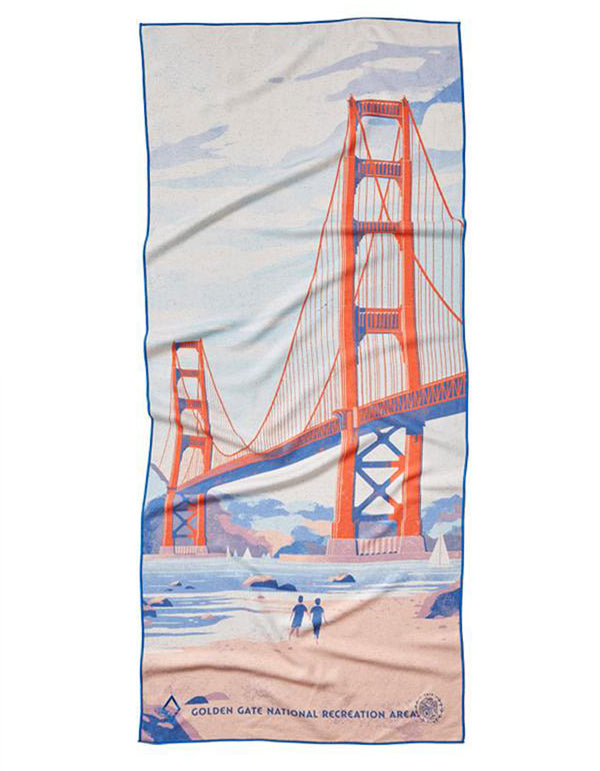 Golden Gate Nomadix Towel