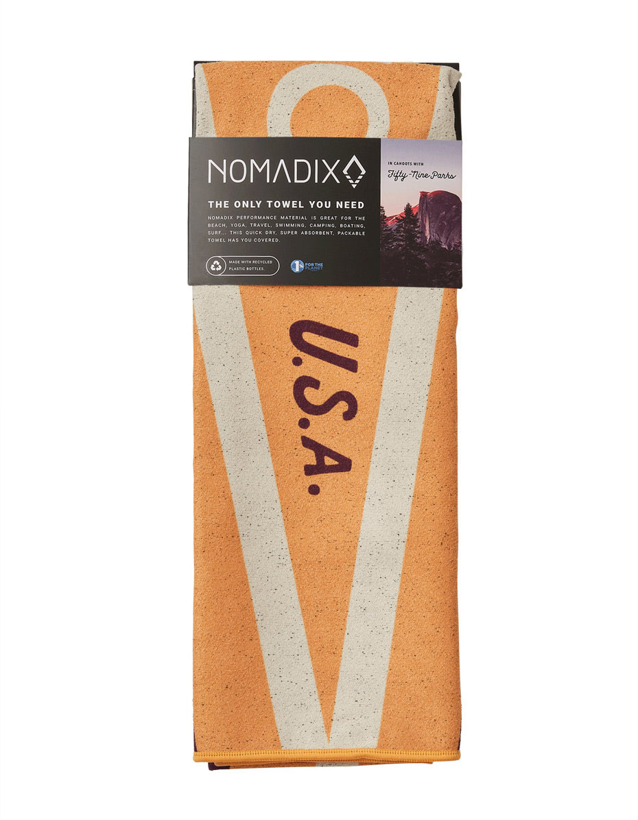 Grand Canyon National Park Nomadix Towel (Flag)