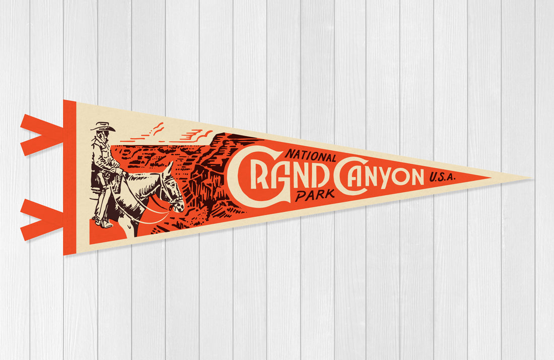 Grand Canyon National Park Pennant