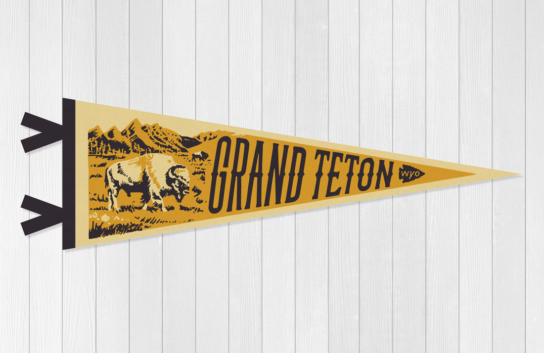 Grand Teton National Park Pennant