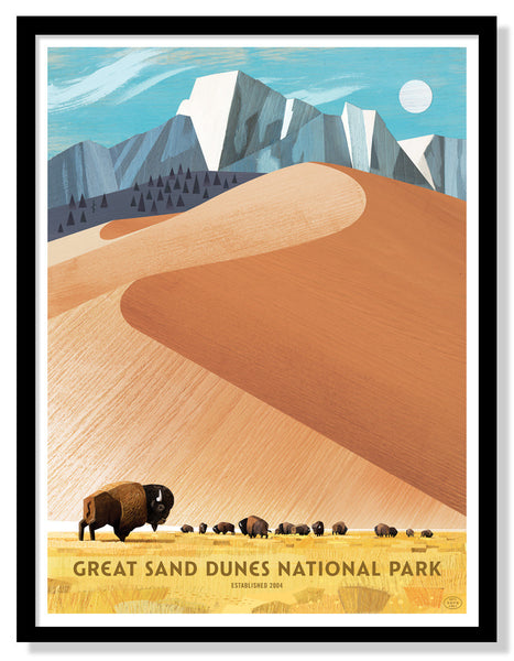 Great Sand Dunes National Park (Large Timed Edition)