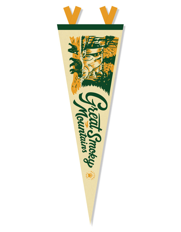 Great Smoky Mountain National Park Pennant