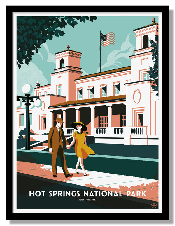 Hot Springs National Park Poster
