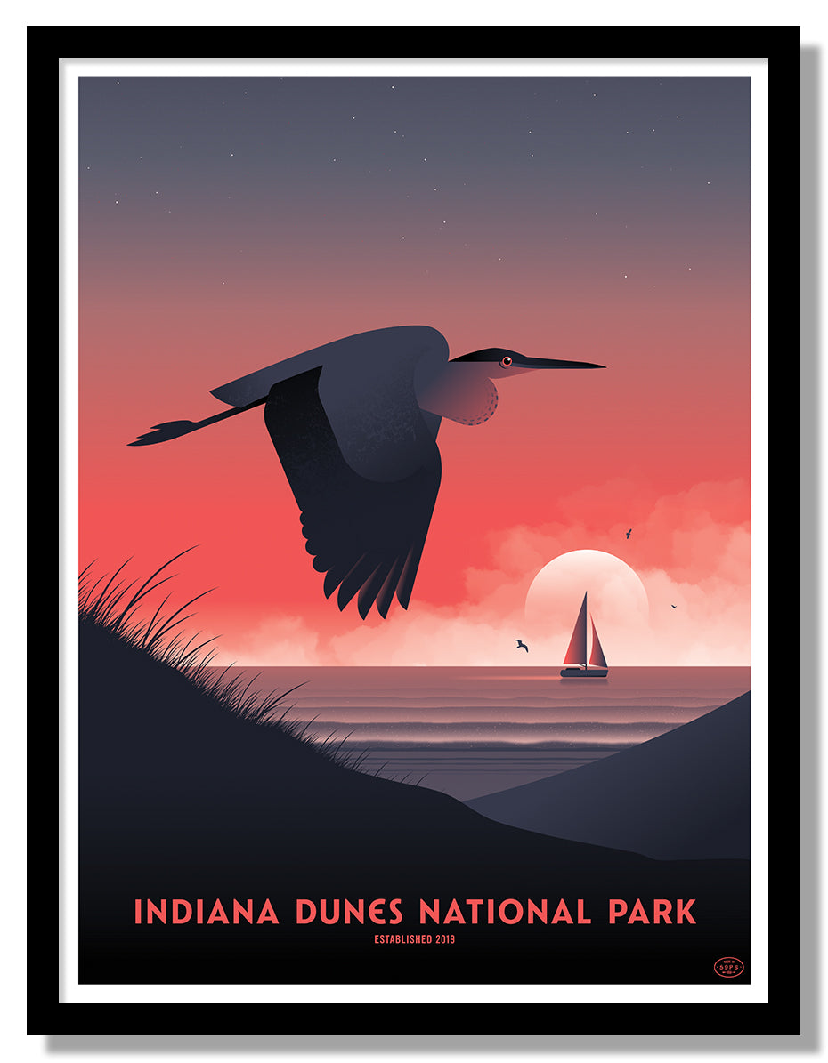 Indiana Dunes National Park Poster