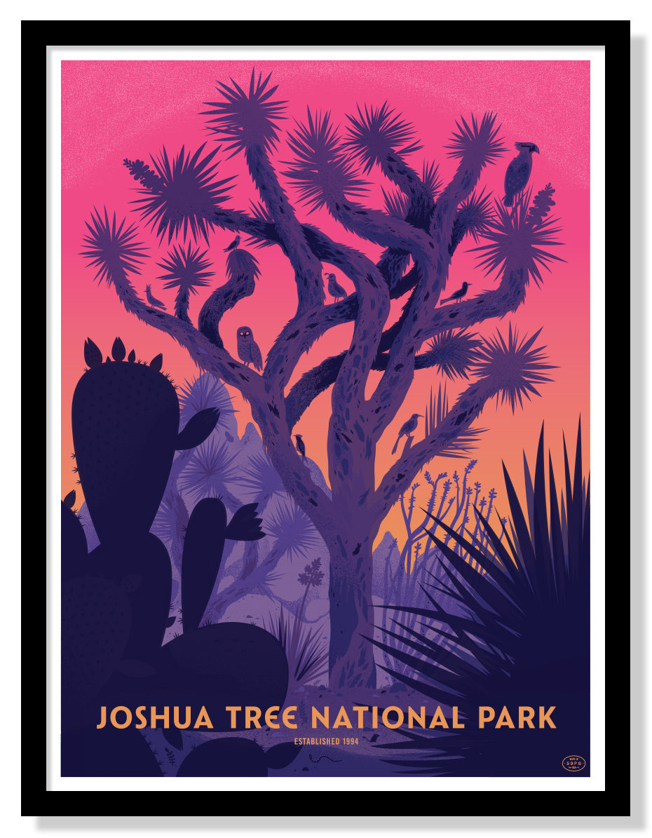 Joshua Tree National Park Poster (Large Timed Edition)