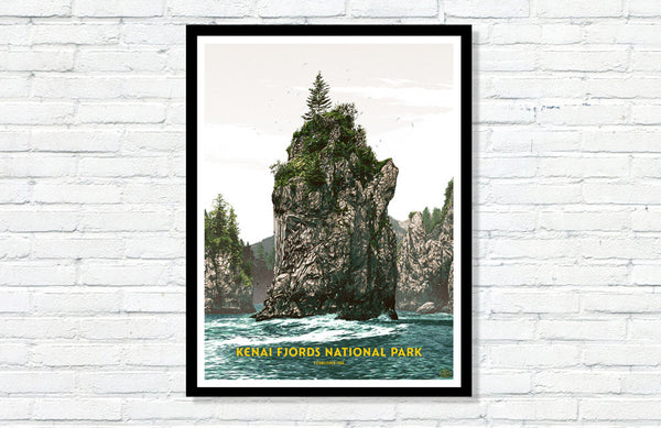 Kenai Fjords National Park Poster
