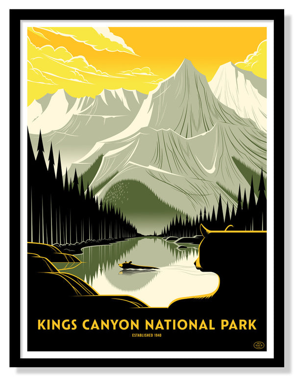 Kings Canyon National Park (Large Timed Edition)