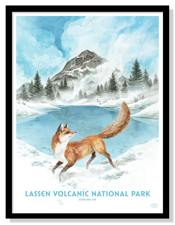 Lassen Volcanic National Park (Large Timed Edition)