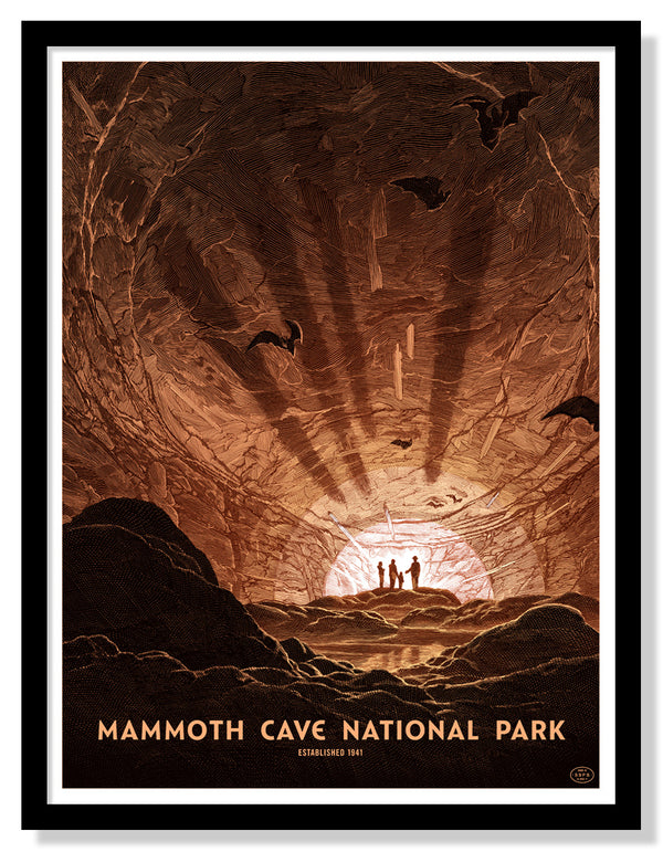 Mammoth Cave National Park Poster (Large Timed Edition)