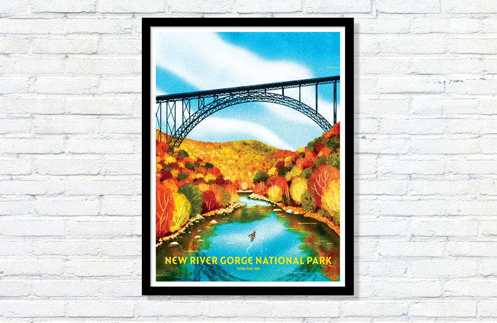 New River Gorge National Park Poster