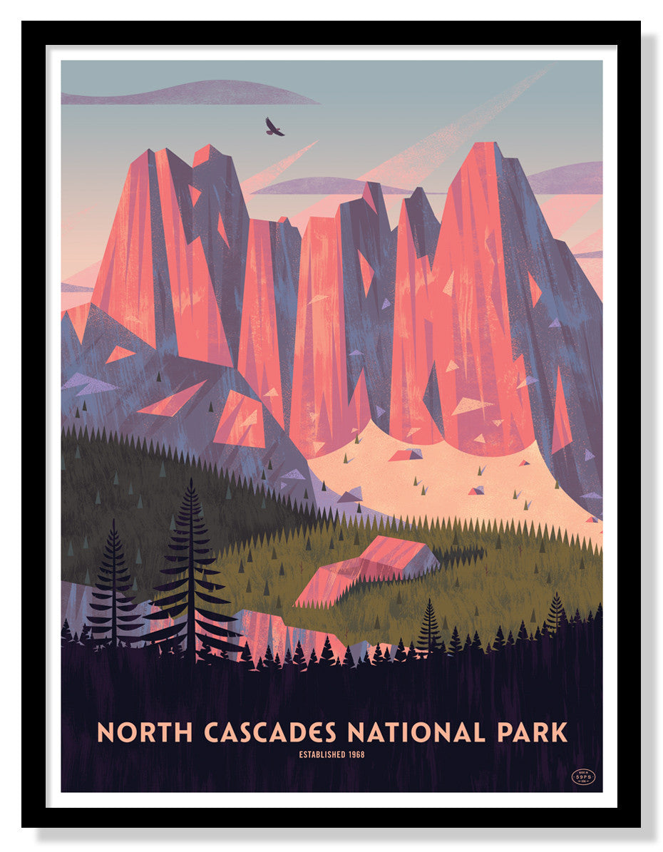 North Cascades National Park (Large Timed Edition)
