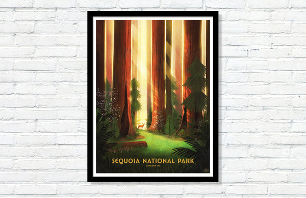 Sequoia National Park (Large Timed Edition)