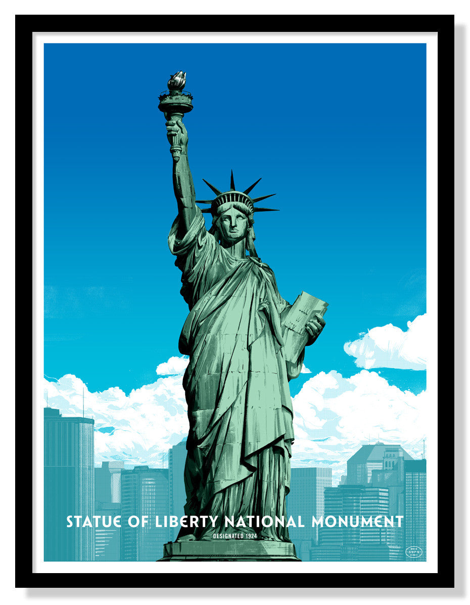 Statue of Liberty National Monument (Large Timed Edition)