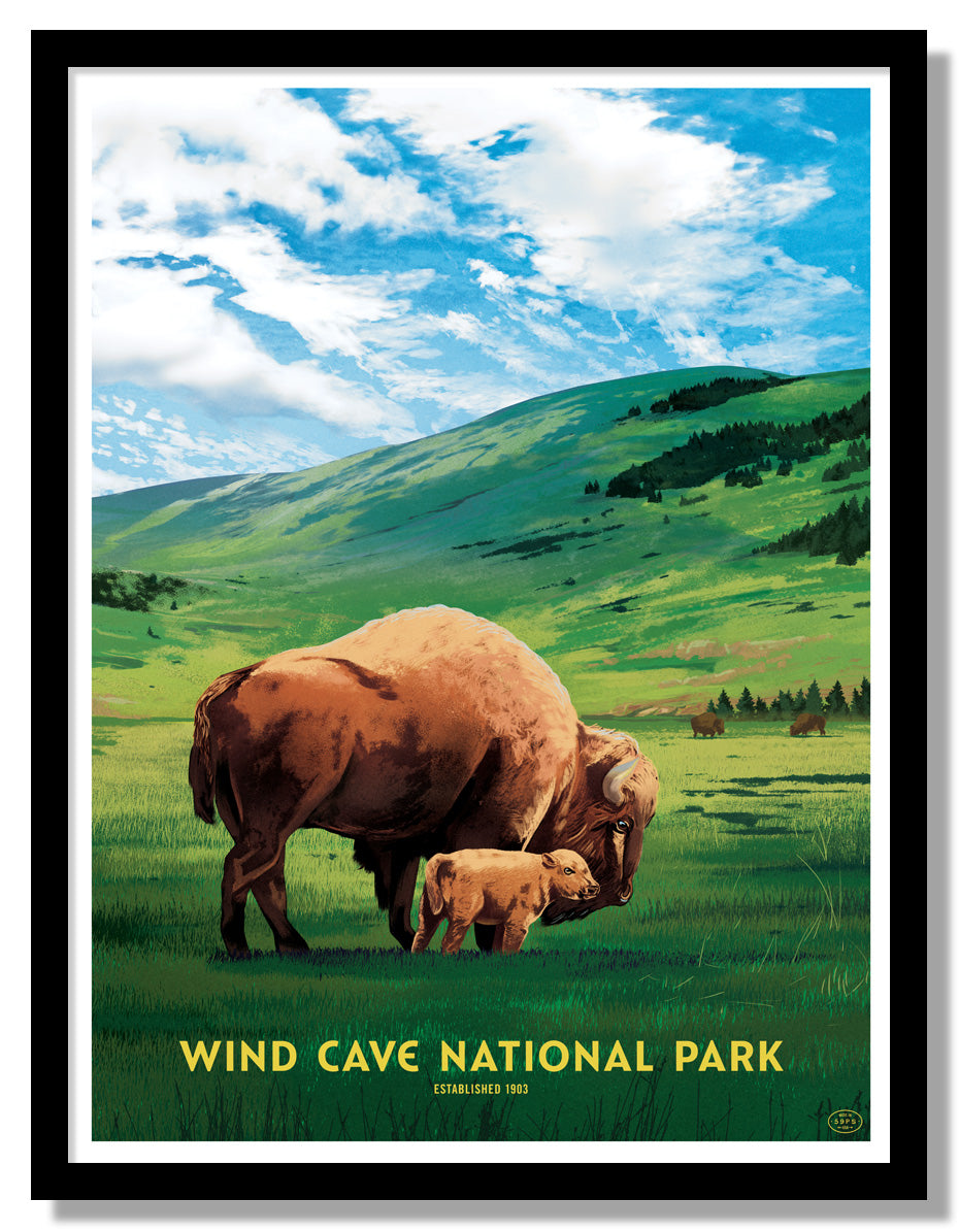 Wind Cave National Park Poster