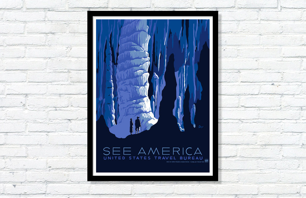 See America WPA Poster