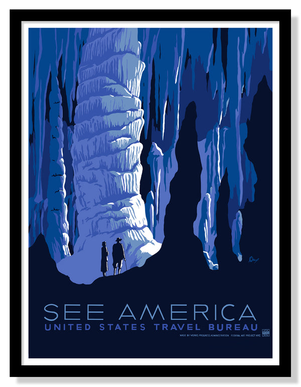 See America WPA Poster (Large Timed Edition)