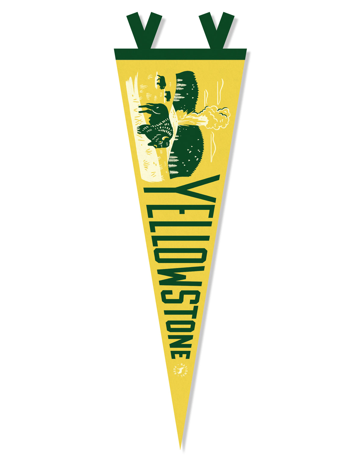 Yellowstone National Park Pennant