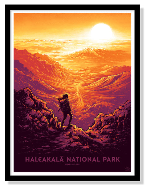 Haleakalā National Park Poster (Large Timed Edition)