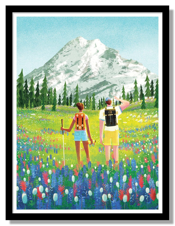 Topo Designs X Fifty-Nine Parks Mini Print