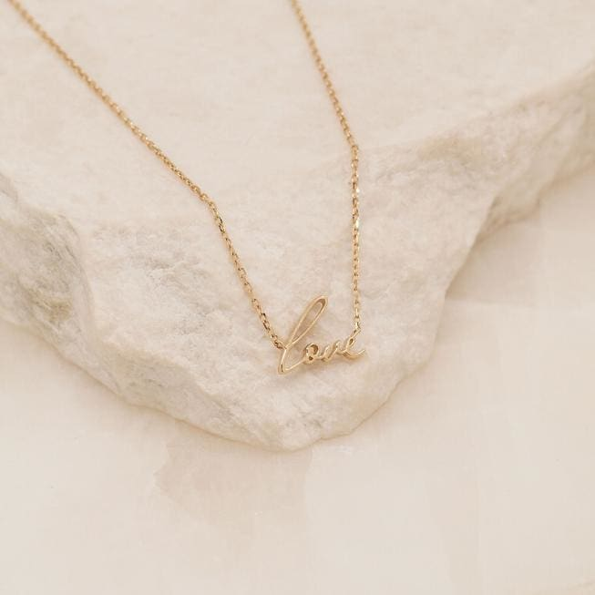 All You Need Necklace 14K Gold - Jewellery