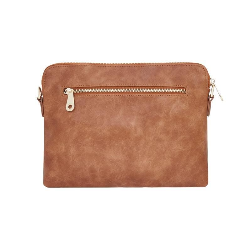 Bowery Clutch Tan Smooth - General