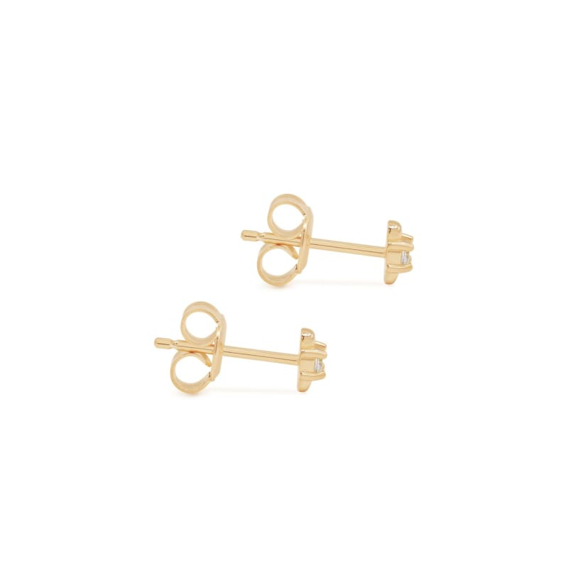 I Am Light Stud Earrings Gold - Accessories