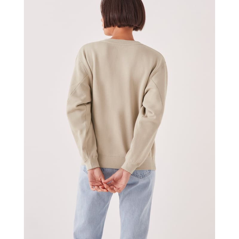 Logo Fleece Khaki - Tops