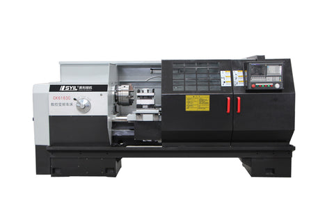 Flat bed CNC Lathe-CK6163 from syil lathe