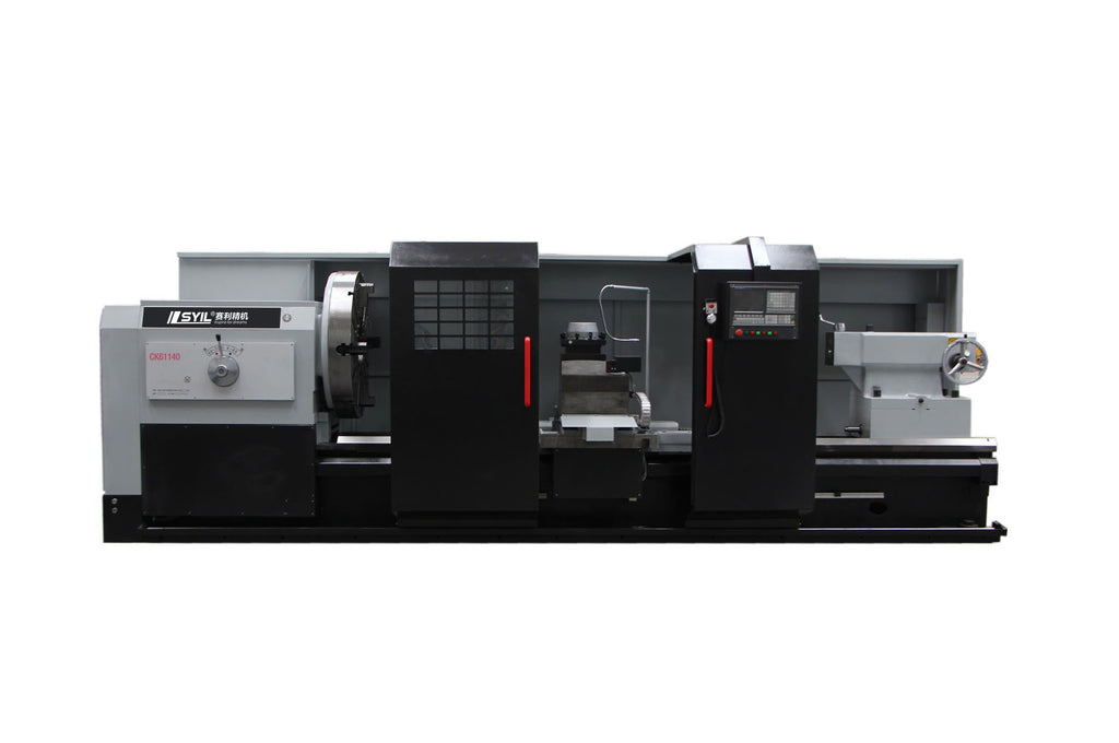 Flat bed CNC Lathe-CK series from syil lathe