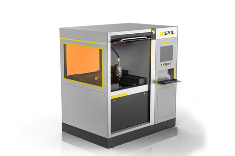 Compact fiber laser cutting machine SLHS-P0637A(500W)
