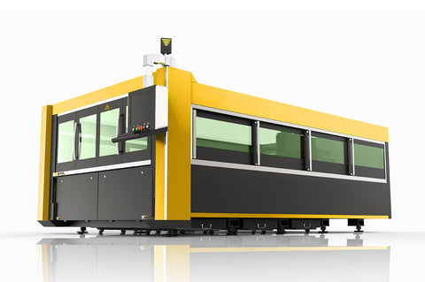 Fiber laser cutting machine with cover SLHS-M3015A(500W)
