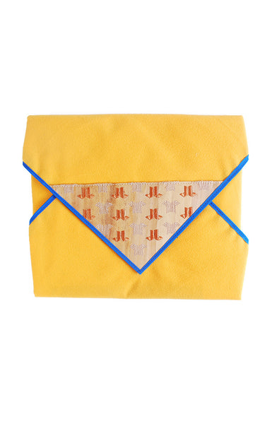 BURDA LAPTOP WRAPS -Yellow