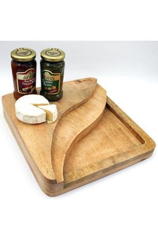 Antipasti and Cheese Serving Board