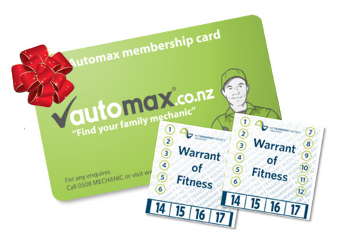 Auckland WOF Card inc. 10% off engine service
