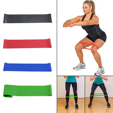 Set of 4 Premium Resistance Loop Bands