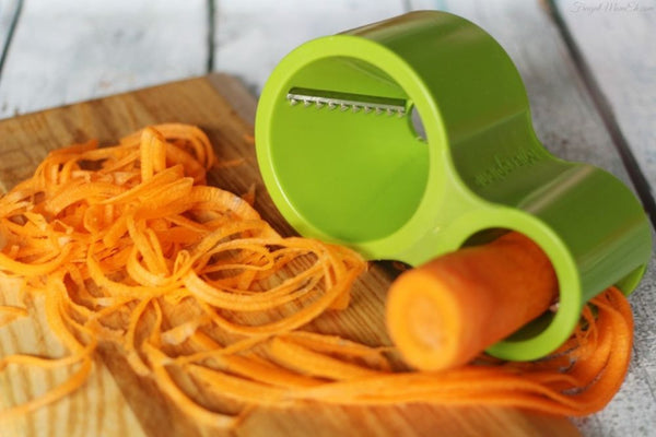 New Design Hand Spiralizer with Knife Sharpener