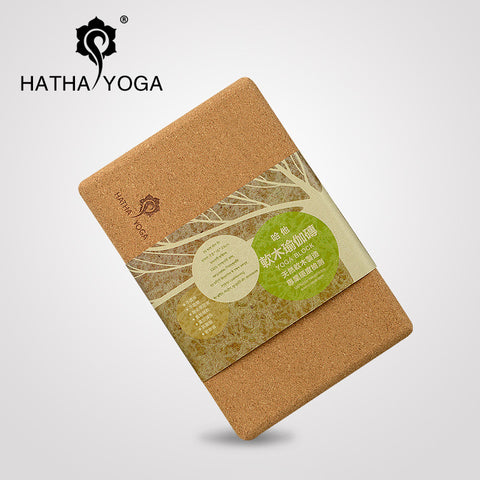 Organic Natural Cork Yoga Block