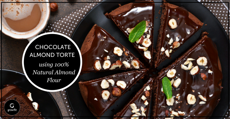 Recipe: Chocolate Almond Torte With Ganache