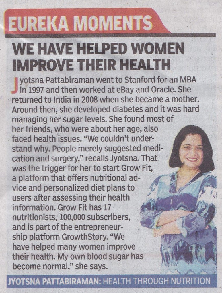 Grow Founder Featured In The Times Of India