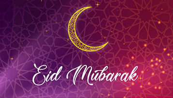 Eid Mubarak Greeting Card After Effects Template