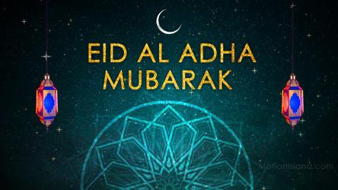 Eid Ul Adha Greeting Card After Effects