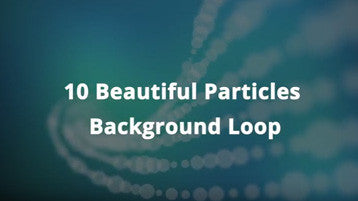 10 Background Loops Particles Animation