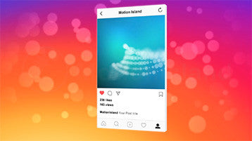 Instagram After Effects Template Animation