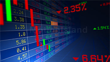 Stock Market Ticker Animation - Video and After Effects Project