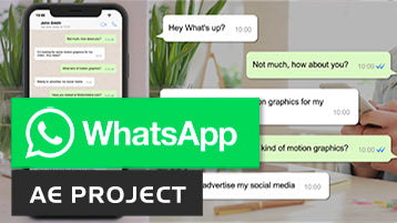 WhatsApp After Effects template