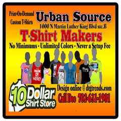 The Urban Source T Shirt Printers