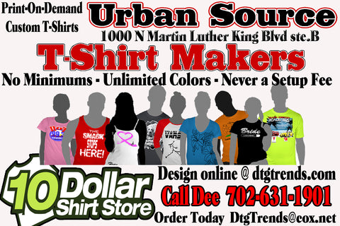 The Urban Source T Shirt Makers
