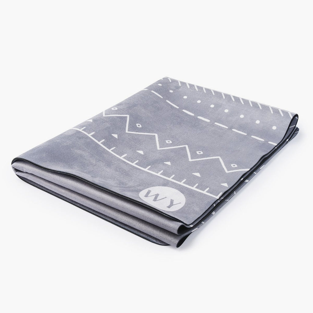 Moonrise | Rubber Backed Yoga Mat Towel