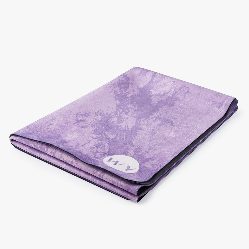 Amethyst | Rubber Backed Yoga Mat Towel